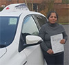 Driving School Pupil South Harrow - Test Pass