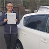 Driving School Pupil Pinner - Test Pass